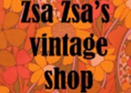 Zsa Zsa's vintage shop