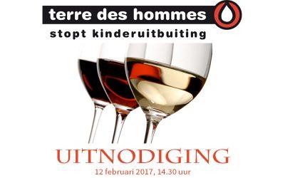 Wijnproeverij tbv Terre des Hommes