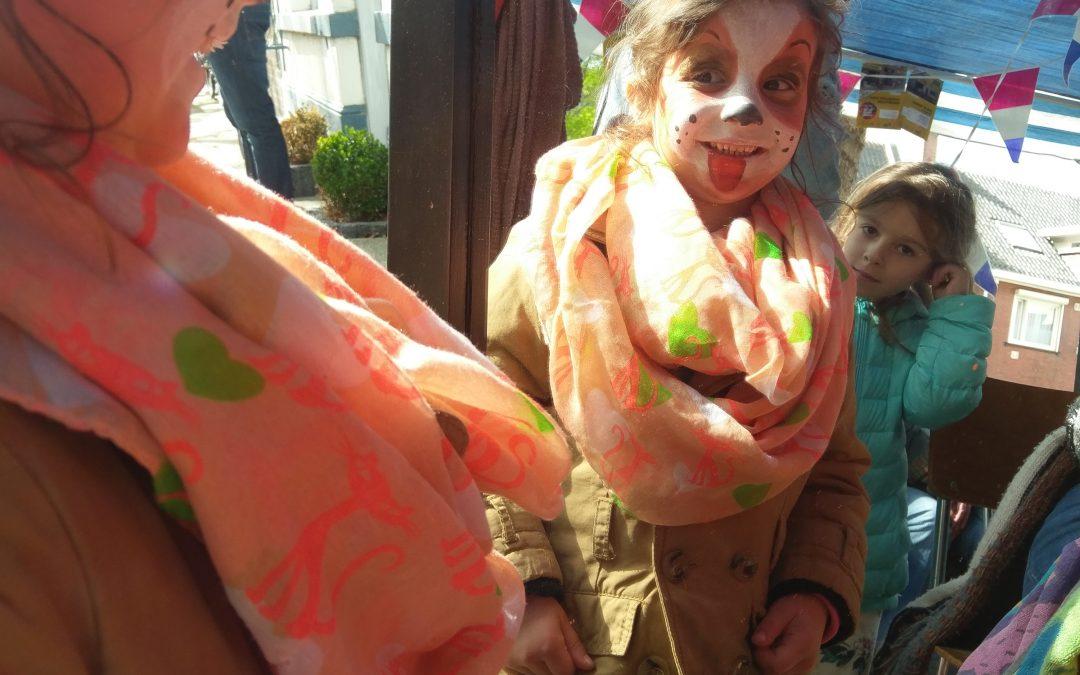 Gratis Kinderschminken bij Peerke