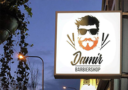 Damier Barbiershop